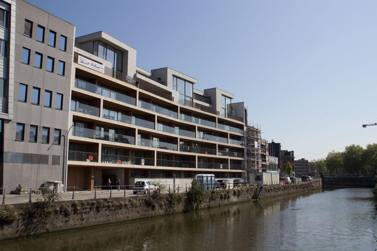 Residentie Reepkaai te Kortrijk