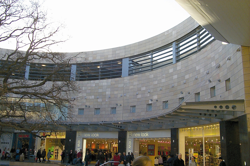 Midsummer Place shopping center in London