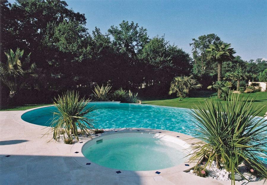 Zwembad Combe Brune
